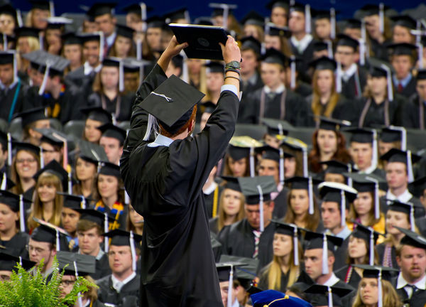 2012 Commencement, Photo by Matt Cashore