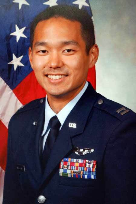 Air Force Captain Reid Kijiro Nishizuka '05, photo courtesy of Lynn Daue