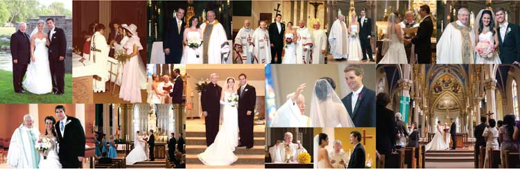 The many weddings of Father Joe Carey, CSC