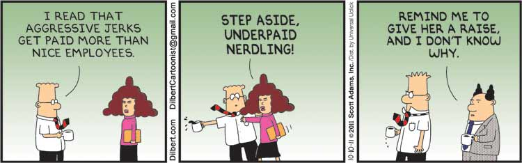 Dilbert c2011, Scott Adams, permission of Universal UClick, all rights reserved
