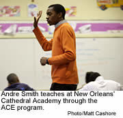 Andre Smith, Ace teacher