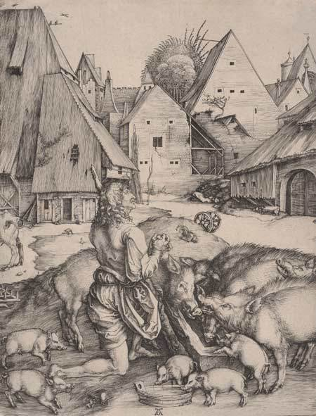 The Prodigal Son (1496), Albrecht Dürer