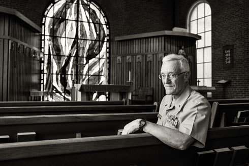 Father Bill Dorwart, photo by Jonathan Timmes