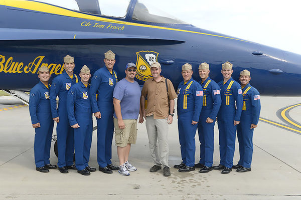 Photo by MC2 Katy Macdonald, Blue Angels Public Affairs Office, used with permission