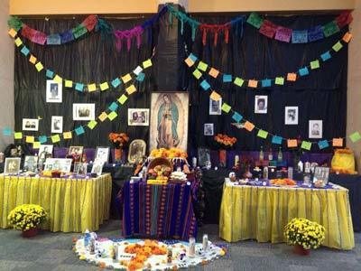 Institute for Latino Studies ofrenda (2013)