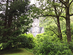 Kylemore Abbey's gothic chapel