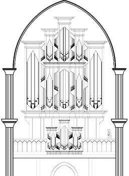 A Murdy Organ schematic: Use your imagination.