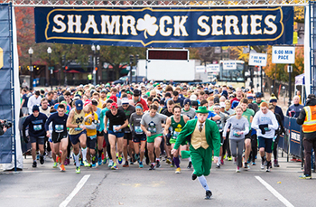 The Irish invasion of Boston Common. Photo: Matt Cashore '94