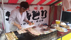 Street chef in Kyoto, Japan, photo by Vincent DeGennaro