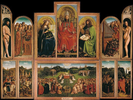 The Ghent Altarpiece, © Lukas-Art in Flanders vzw