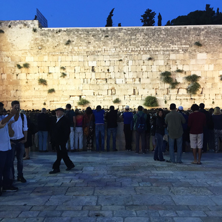 The Western Wall, photos courtesy of the author.
