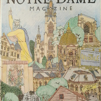 "Monica T. Rodriguez '90 spent ""a rare relaxing Sunday coloring the cover."""
