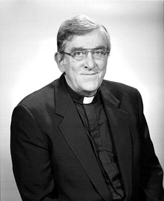Rev. Marvin R. O'Connell '59Ph.D., photo: University of Notre Dame Archives