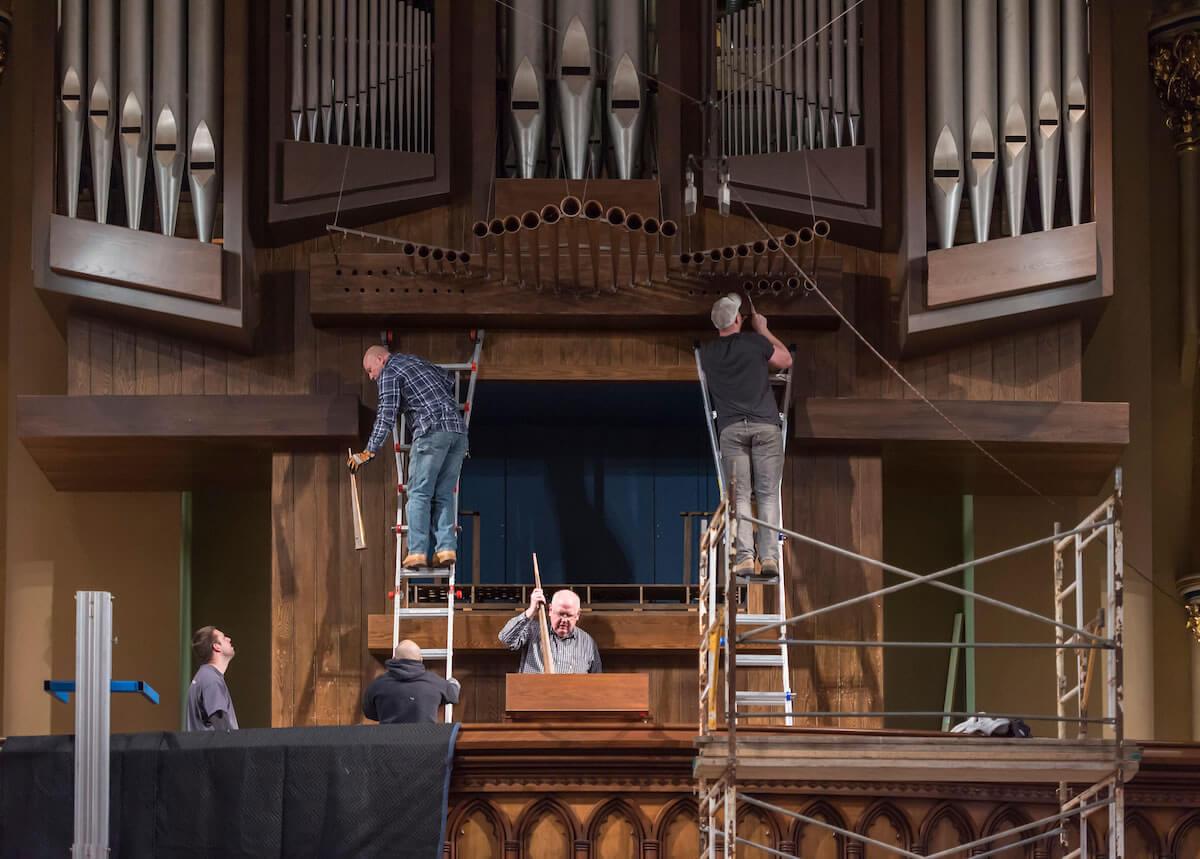 Basilica Organ | Special Features | Notre Dame Magazine