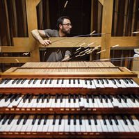 At the basilica, keyboard maker Raphi Giangiulio wrestles with the carbon-fiber trackers that link keys to notes, retaining tremendous sensitivity to the organist's touch through the several changes of motion along the way.