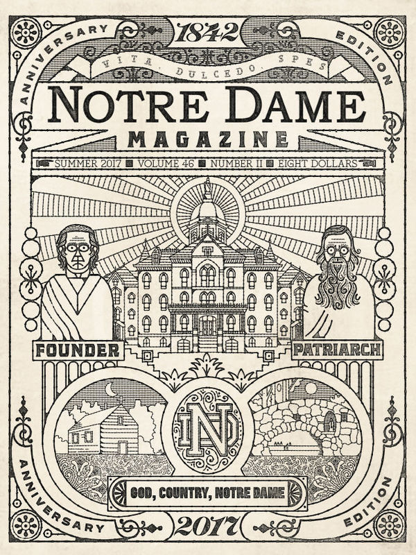 God, Country, Notre Dame cover