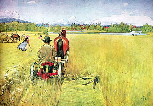 Summer By Carl Larsson