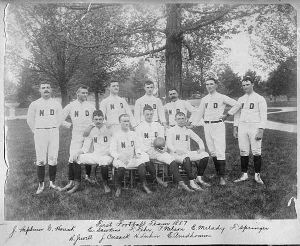 175th 1887 Firstfootballteam