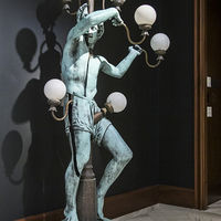 "<p style=""margin-bottom:8pt; margin-left:0in; margin-right:0in; margin-top:0in"">Born in France in 1928, the modernist sculptor Arman gave the juggler's story a comic twist. <em>Photo courtesy Dumbarton Oaks.</em></p>"