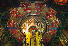 Large Hadron Collider image from CERN