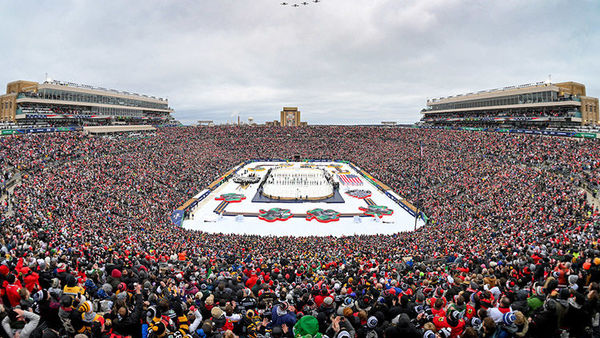 Photo of the Week: The rink that Rock built