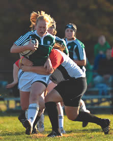 Women's rugby at Notre Dame