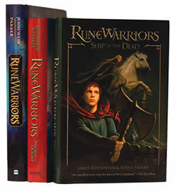 Photo of RuneWarriors trilogy by August Jennewein