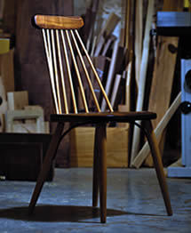 Photo of Keating-built chair by Matt Cashore