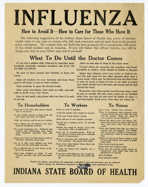 Influenza How To Avoid It