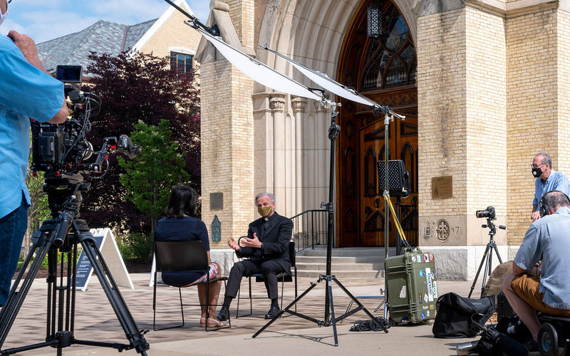 Fr. Jenkins NBC Interview