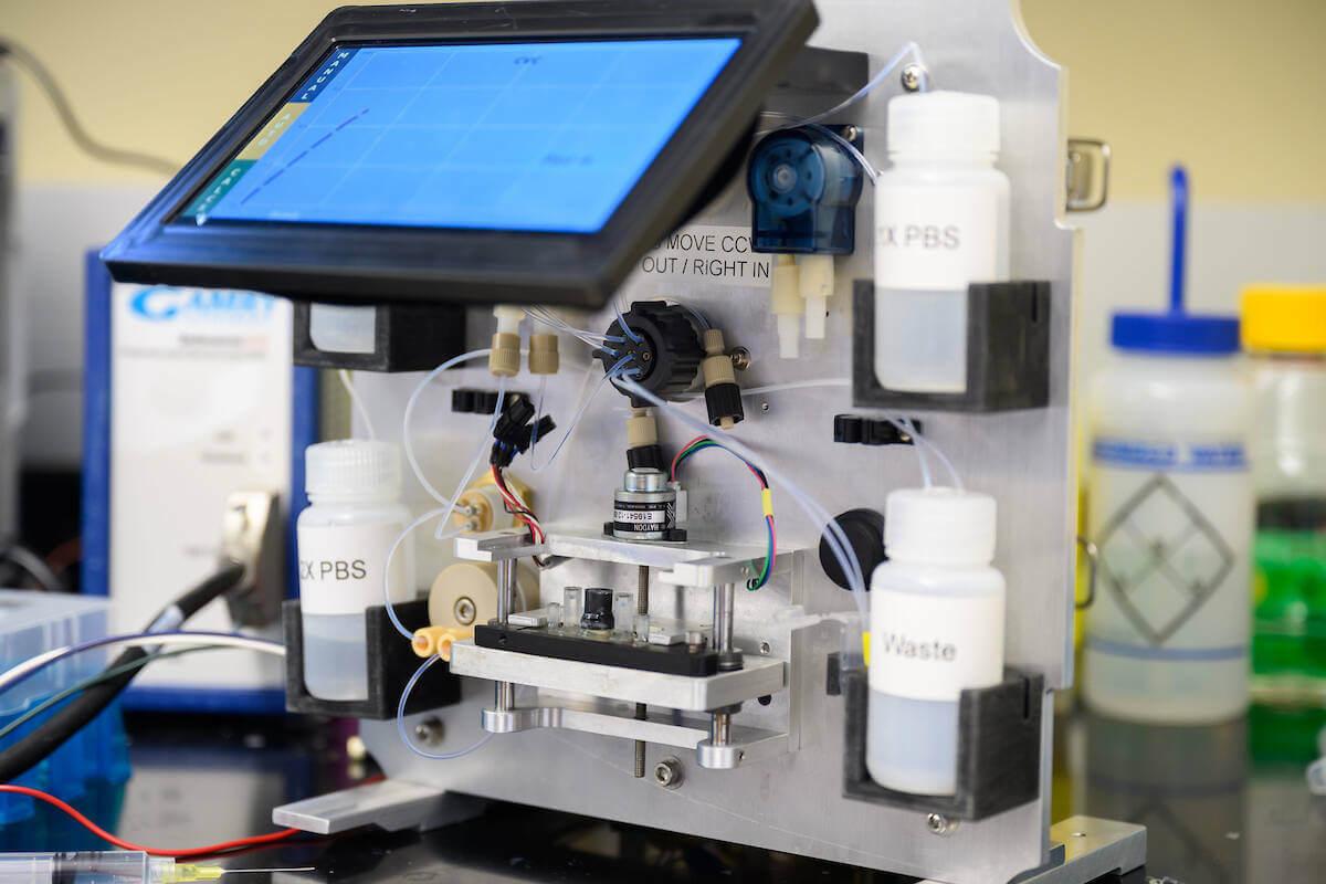 Chang Lab Virus Test Machine