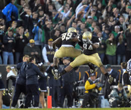 ND-Utah game photo by Matt Cashore