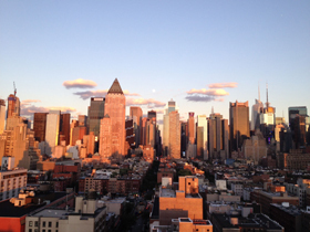 NYC skyline courtesy of Sara Felsenstein