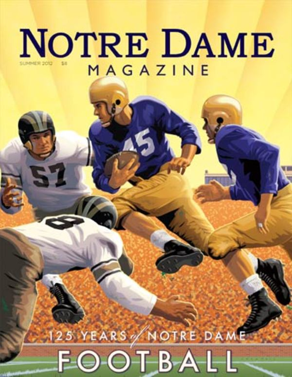 125 Years of Notre Dame Football cover