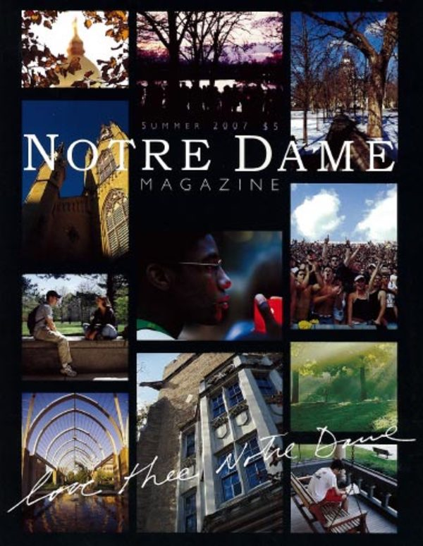 Love Thee Notre Dame cover