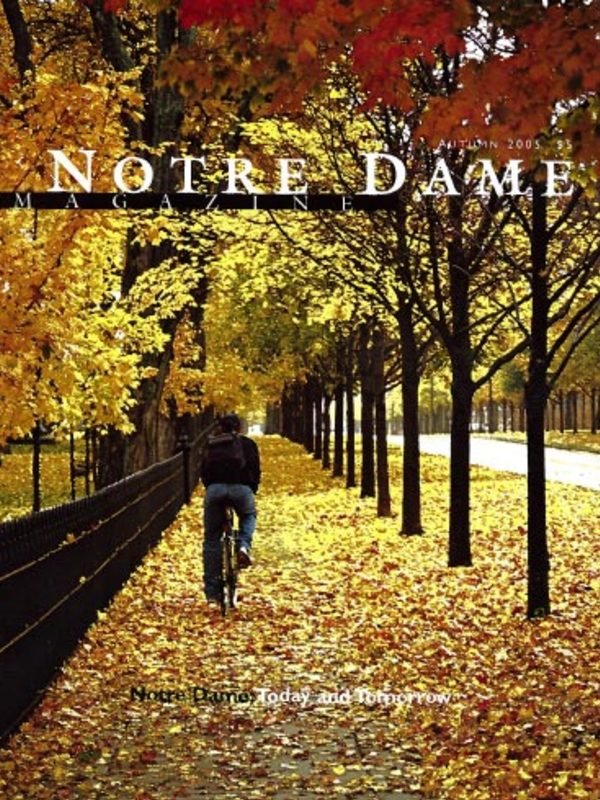 Notre Dame Today and Tomorrow cover