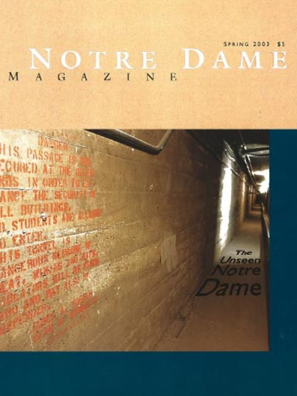 The Unseen Notre Dame cover