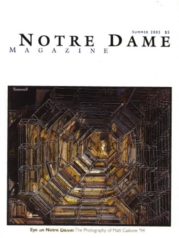Eye on Notre Dame cover
