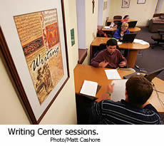 writing center notre dame Notre dame's college of arts and letters challenges graduate and undergraduate students in the liberal arts to ask the great questions as they pursue their.
