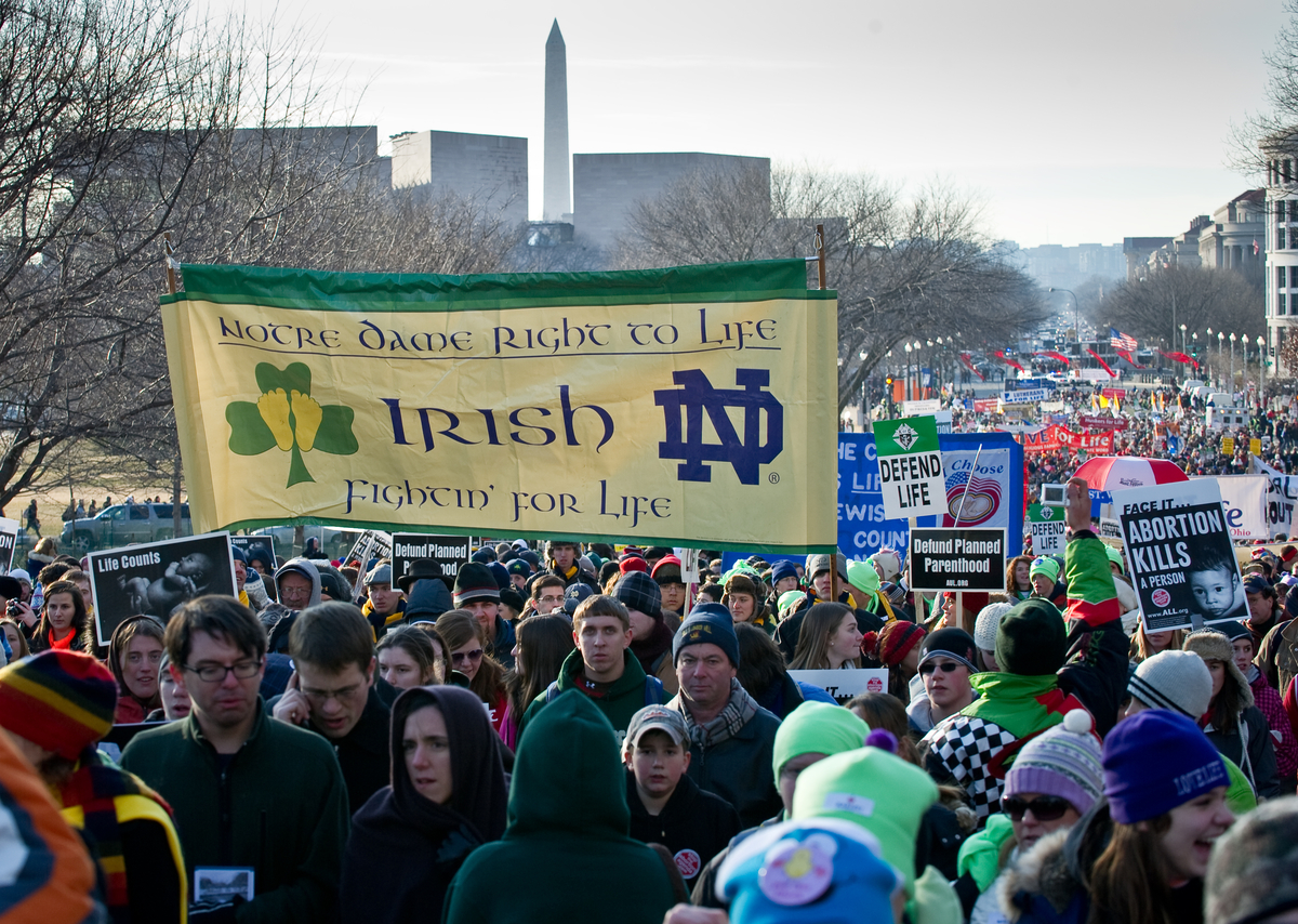 2011 March for Life, photo by Matt Cashore