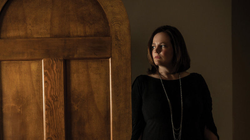 Michelle McNamara, photo by Robyn Von Swank